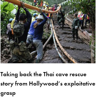 Taking Back The Thai Cave Rescue From Exploitative Hollywood Siobhan Lawless gal-dem